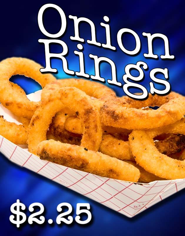 Onion Rings - 11x14