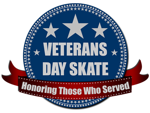 Veterans Day Skate Logo