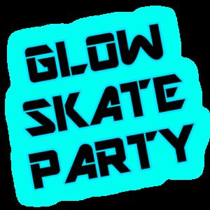 Skagit Skate Glow Skate Party Logo